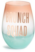 Slant Collections Brunch Squad Stemless Wine Glass