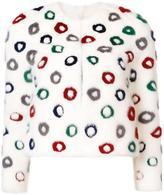 Carolina Herrera donut pattern jacket