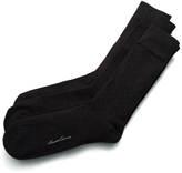 Kenneth Cole 3-Pair Windowpane Crew Socks