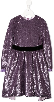 Philosophy Di Lorenzo Serafini Kids Sequin Embellished Dress