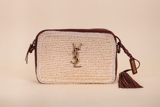 Saint Laurent Crochet Lou Camera Bag
