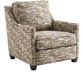 """Lexington Zavala 33"""" W Down Cushion Armchair Upholstery Color: Brown"""