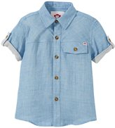 Appaman Harvey Shirt (Toddler/Kid) - Dream Blue - 7