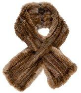 Cassin Multicolor Fur Stole