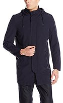Nautica Men's Newport Raincoat with Chest Pocket and Zip-Out Liner