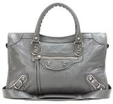 Balenciaga Classic Metallic Edge City S Leather Shoulder Bag
