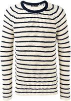 Roberto Collina striped top - men - Cotton - 48