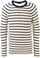 Roberto Collina striped top - men - Cotton - 50