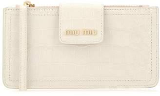 Miu Miu Logo Crossbody Bag