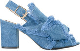 No.21 denim sandals - women - Cotton/Leather - 36