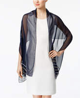 INC International Concepts Diagonal Beaded Evening Wrap, Created for Macy's