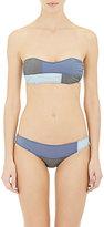 Lisa Marie Fernandez Women's Nat Bandeau Bikini-BLUE