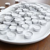 Crate & Barrel Bag of 100 White Tea Lights