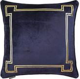 Aria 24x24 Pillow - Blue Velvet - Thurston Reed