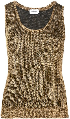 Salvatore Ferragamo Sleeveless Knitted Top