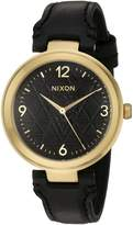 Nixon Women's A9922478-00 Chameleon Leather Analog Display Quartz Watch