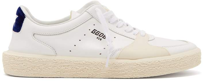 Golden Goose Tenthstar low-top leather trainers