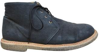 A.P.C. Black Leather Boots
