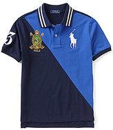 Ralph Lauren Big Boys 8-20 Color Blocked Short-Sleeve Polo Shirt