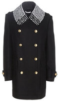 Altuzarra Charles wool-blend coat with embellished collar