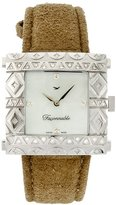 Façonnable – fgzs1 – Ladies Watch – Quartz Analogue – Bracelet leather beige