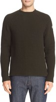 Moncler Men's Ribbed Wool & Cashmere Sweater