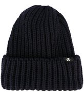 Paul Smith ribbed beanie hat
