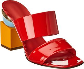 Salvatore Ferragamo Lotten Patent Sandal