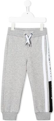 Givenchy Kids logo jersey trackpants