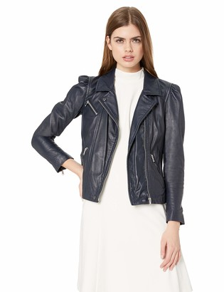Rebecca Taylor Women's Leather Biker Jacket