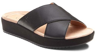 Vionic Women's Sandals BLK - Black Hayden Leather Sandal - Women