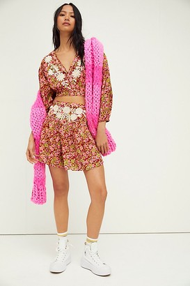 Free People Nyomi Embroidered Set