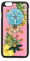 Dolce & Gabbana Fruit Crystal iPhone 6/6s Case, Pink/Multi
