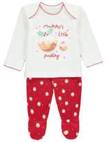 George Christmas Pudding Pyjamas