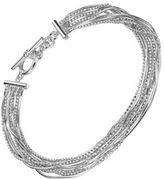 Lord & Taylor Liquid Strands Toggle Bracelet