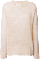 Agnona oversized textured sweater - women - Polyamide/Mohair/Wool - M