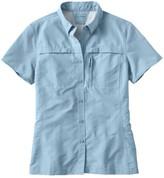 L.L. Bean L.L.Bean Women's Tropicwear Shirt, Short-Sleeve