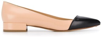 Francesco Russo pointed ballerina shoes