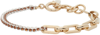 Justine Clenquet Silver and Gold Jean Bracelet