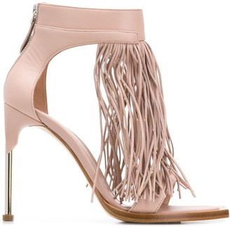 Alexander McQueen Fringed Sandals