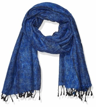 Cool Trade Winds Scarf / Wrap - Blue / Light Blue - 100% Fair Trade Yak Cotton Shawl