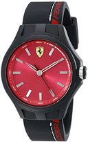 Ferrari Men's 830219 Pit Crew Analog Display Quartz Black Watch