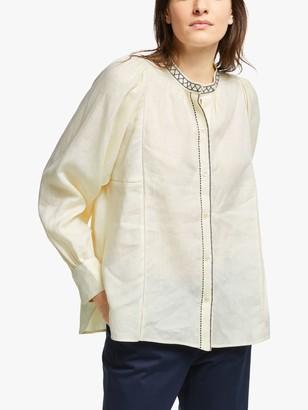 Max Mara Weekend Terni Linen Shirt, Ivory