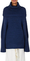 J.W.Anderson Women's Chunky-Knit Wool-Blend Cowlneck Sweater