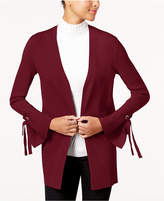 INC International Concepts I.N.C. Tie-Cuff Cardigan, Created for Macy's
