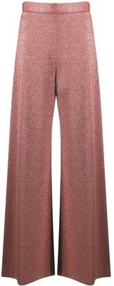 M Missoni High-Rise Wide Leg Trousers