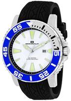 Oceanaut Marletta OC2917 Men's Round Black Silicone Watch