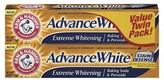 Arm & Hammer Advance White Extreme Whitening Baking Soda & Peroxide Toothpaste - 2pk - 12oz