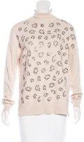 Karen Millen Embellished Turtleneck Sweater