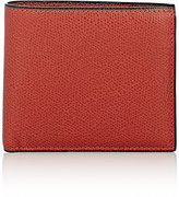 Valextra Men's Leather Billfold-RED